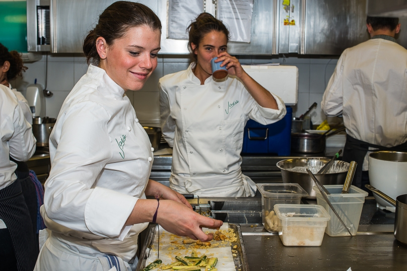 """Nella cucina del Joia gli ingredienti segreti di ogni piatto sono serenità e """"gioia""""."""