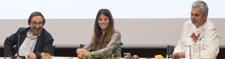 Giulia Innocenzi alla tavola rotonda di The Vegetarian Chance l'11 giugno 2016
