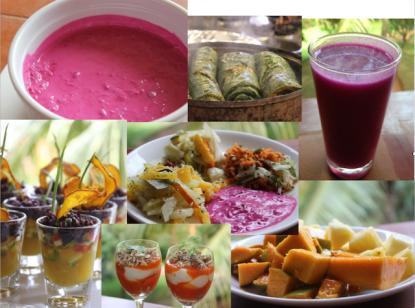 L'allegria multicolore dei piatti vegan-whole