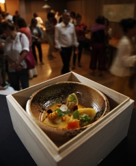Hitoshi Sugiura Tortelli di mais con salsa di soia alle nocciole